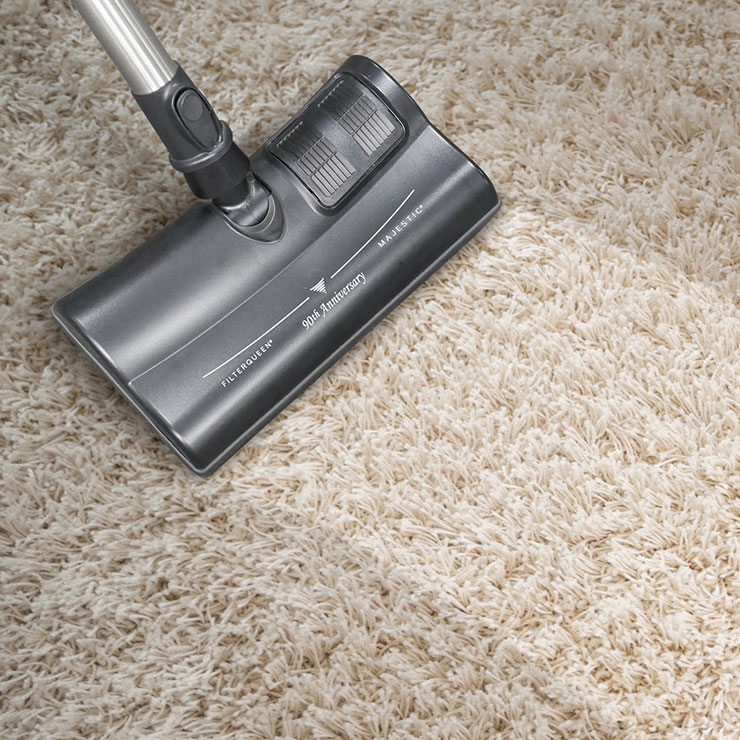 Summit Air Vacuums Deep Cleans Carpets